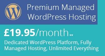 New Managed WordPress Hosting Header