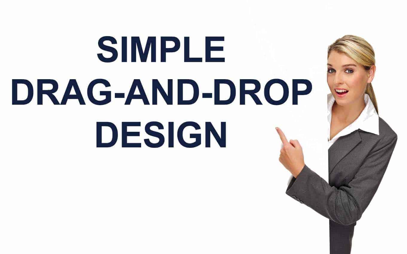 Simple Drag and drop design v3