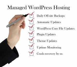 difference between unmanaged and managed WordPress hosting